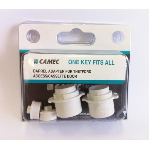 1 Key Fits All Barrel Adaptor Thetford Access/Cassette Doors | 40185 | Caravan Parts