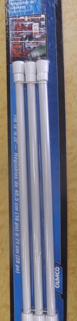 Fridge Retaining Bars - Pack Of 3   3356   Caravan Parts