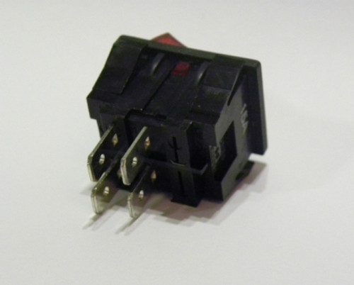 Rangehood Fan Rocker Switch - 4 pins