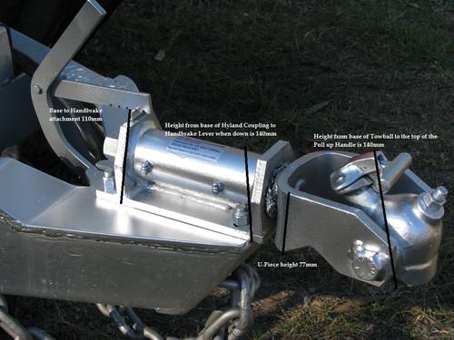Hyland 3500kg Off Road Coupling Specs