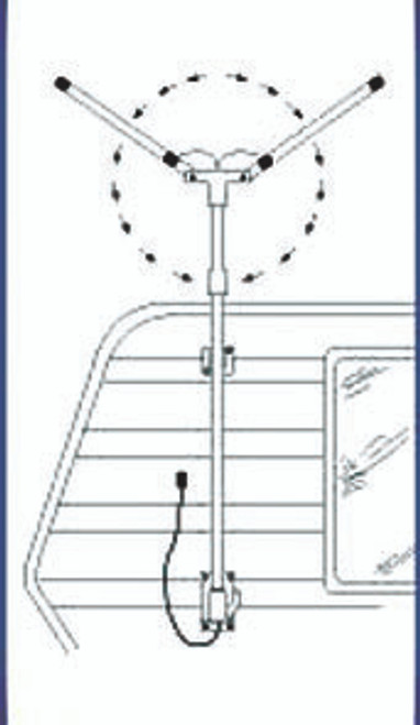 Foldaway Standard Antenna fold out