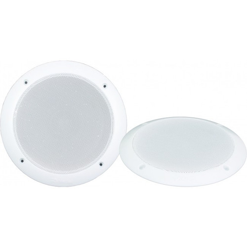 5 Inch 100W Dual Cone Speakers 30.1mm Mount Depth - Pair, RV Media