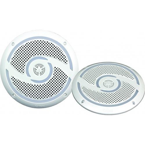 6 Inch 200W Waterproof Speakers with spacers - Pair, RV Media