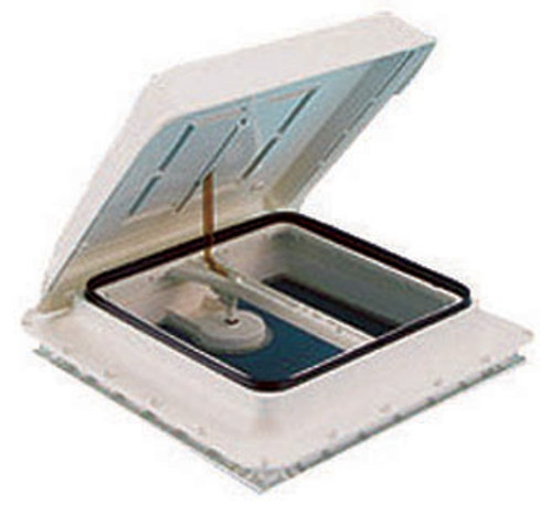Fiamma 400 X 400mm Hatch Lid White and the vent it is used for