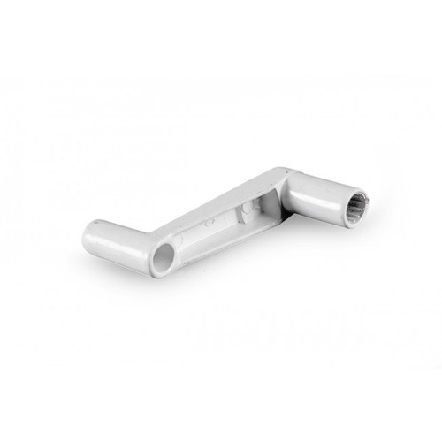 Jensen / Elixir Winder Handle To Suit New Style 14in Hatch White Back View 008586
