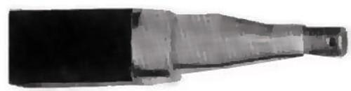 Axle Stub 40Mm Square 200Mm  Short | 36084 | Caravan Parts
