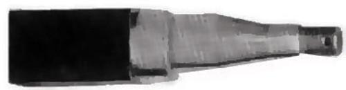 Axle Stub 40Mm Square 305Mm Long | 36085 | Caravan Parts