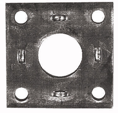 Adaptor Plate S/45Mm Mech/Elec Mech-Elect   6397   Caravan Parts