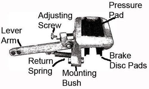 Mech Disc Caliper Mtg Bolt  Alko | 36158 | Caravan Parts