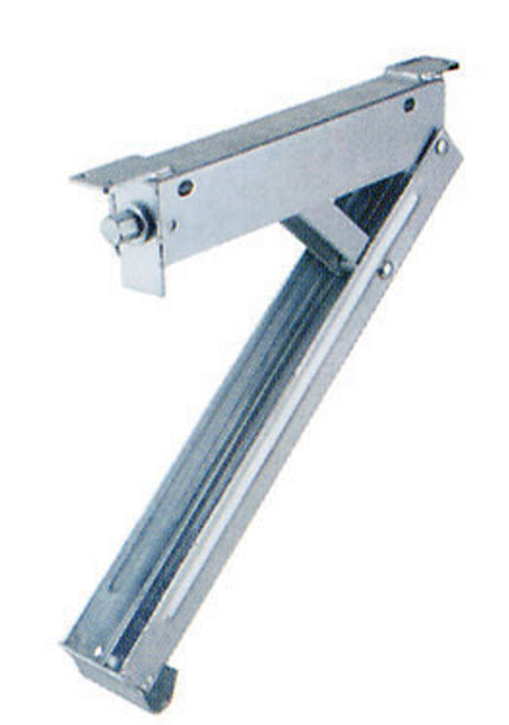 Leg Chann 500Mm Galv Front Bolt On Use Hex Handle   6481