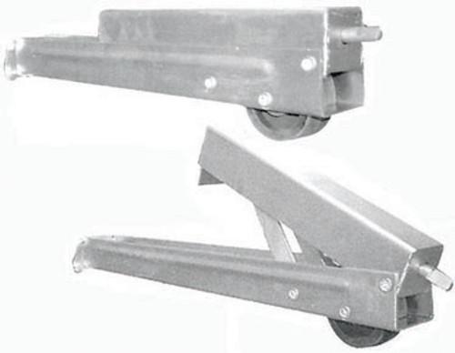 Leg Chann 500Mm Rear Slotted Ajustable Use Slottled Handle | 6473
