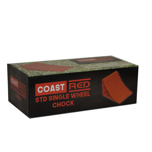 Coast Red Std Single Wheel Chock | 450-00464