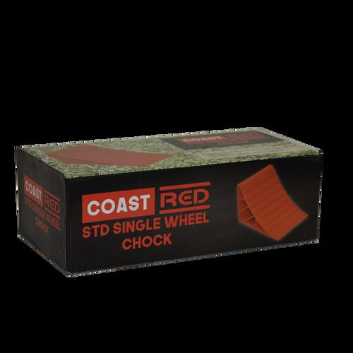 Coast Red Std Single Wheel Chock | 450-00464