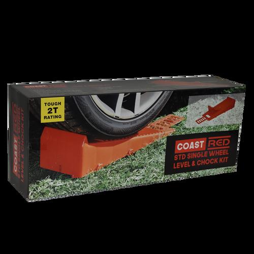 Coast Red Std Single Wheel Level & Chock Kit | 450-00460