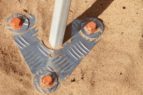 Caravan Awning / Gazebo anchor in sand