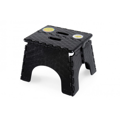 Ez-Fold Step-Stool Black 230Mm High | 736 | Caravan Parts