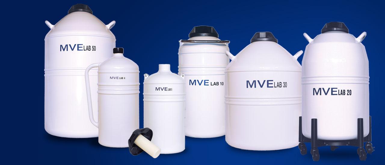 Lab Series Liquid Nitrogen Storage Containers
