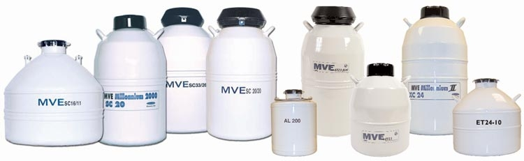 Manual Fill Liquid Nitrogen Freezers