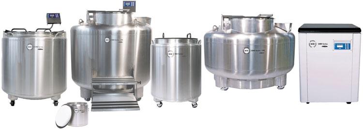 Automatic Fill Liquid Nitrogen Freezers