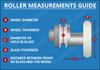 ROLL340-1 - Shower Door Roller - 21mm