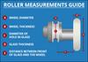 ROLL016 - Shower Door Roller Diagram
