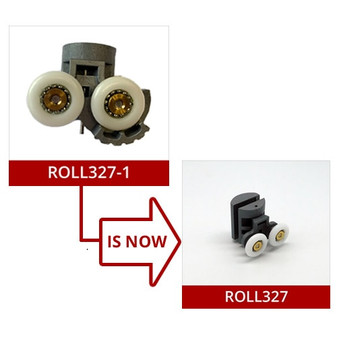 ROLL327-1 - Shower Door Roller - 21mm