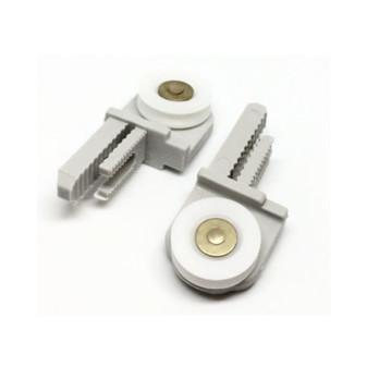 ROLL346 - Pair of Shower Door Rollers