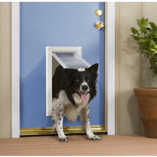 Patio Pacific Endura Flap Medium Pet Door For Doors Pet Fence Pros
