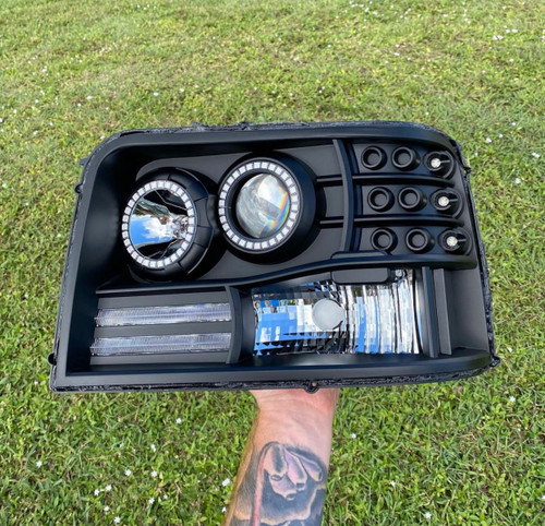 1992-1997 Ford OBS Double Halo KIT ONLY