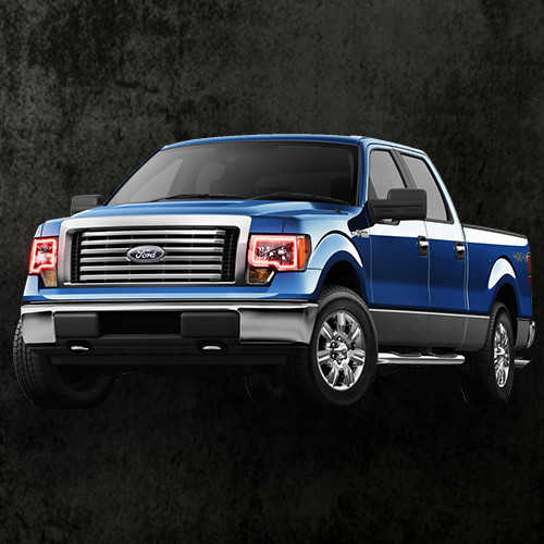2009-2014 Ford F150 Halo Kit Only