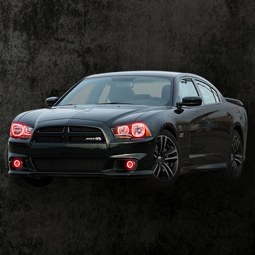 2011-2014 Dodge Charger Halo Kit Only