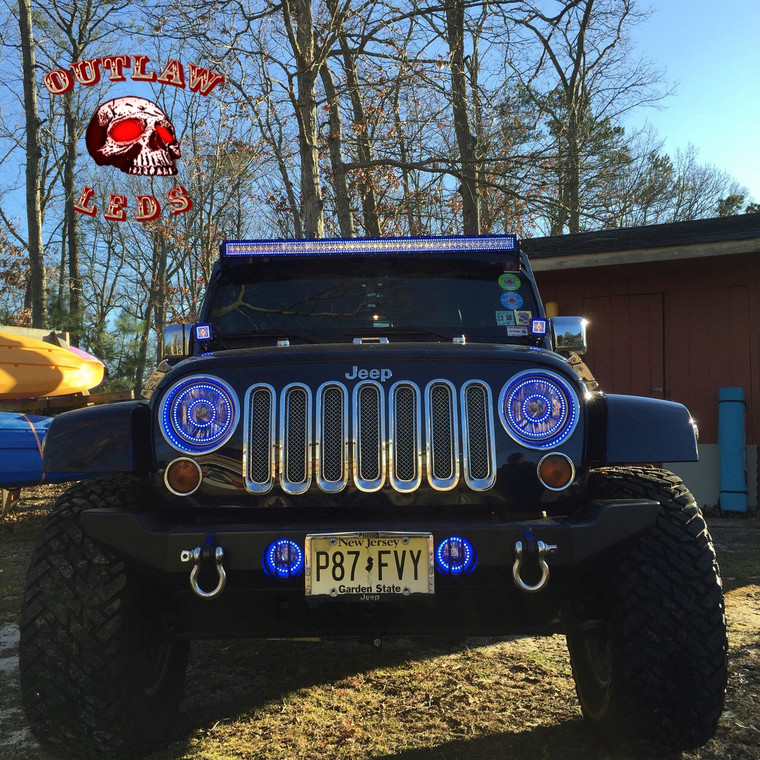 1997-2017 Jeep Wrangler Double Halo Kit Only