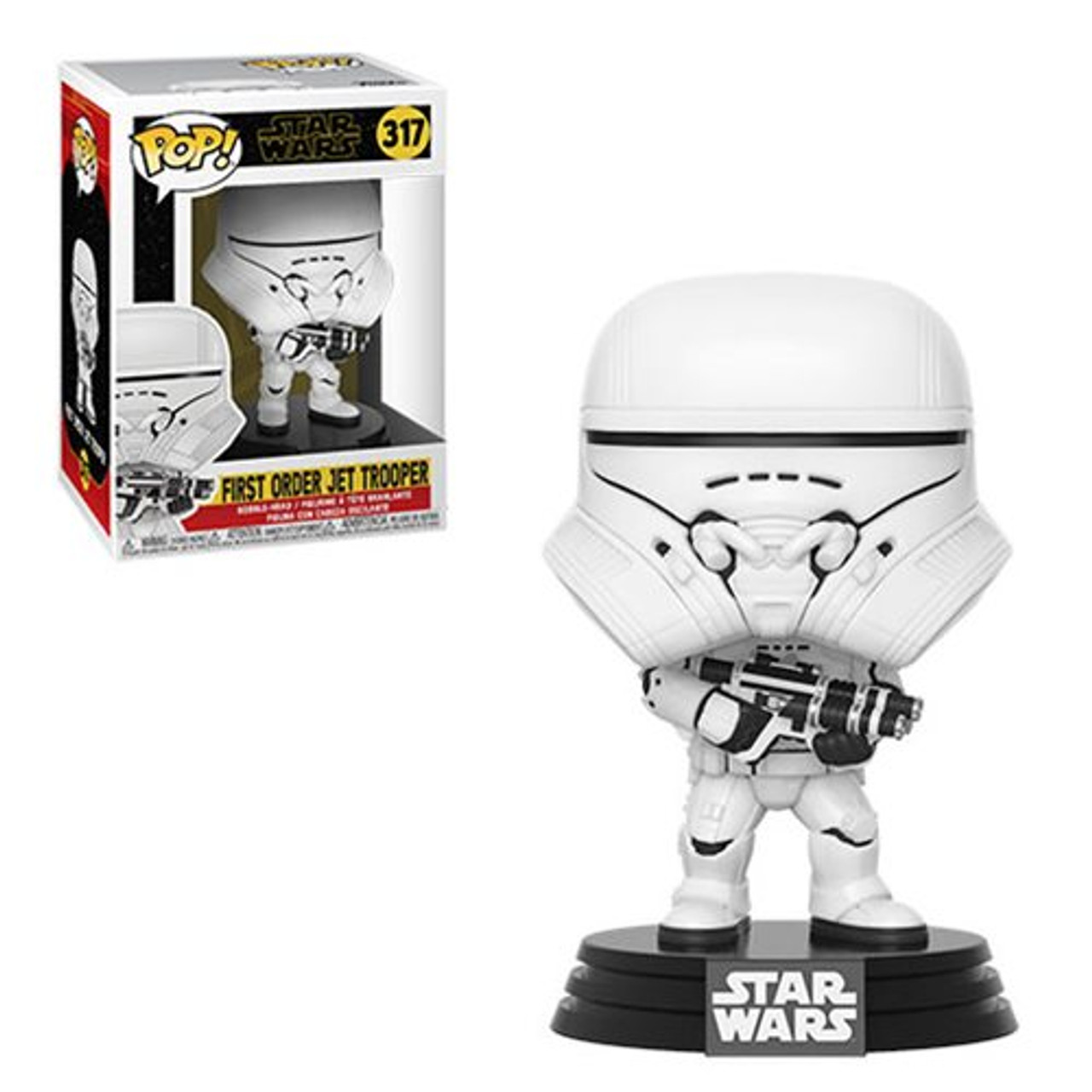 Funko Pop Star Wars The Rise Of Skywalker First Order Jet Trooper 317 Great Lakes Stamps Coins