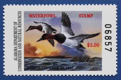 1994 Alabama State Duck Stamp (AL16)