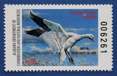 1997 Alabama State Duck Stamp (AL19)