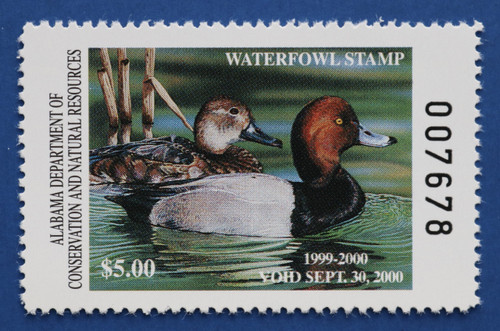 1999 Alabama State Duck Stamp (AL21)