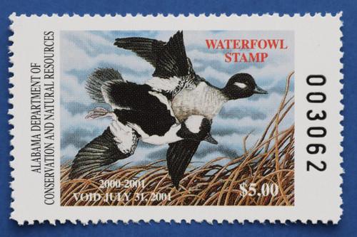 2000 Alabama State Duck Stamp (AL22)