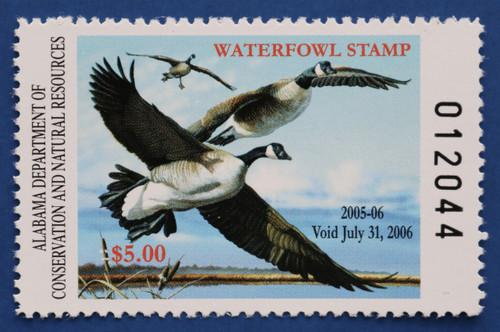 2005 Alabama State Duck Stamp (AL27)