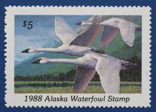 1988 Alaska State Duck Stamp (AK04)