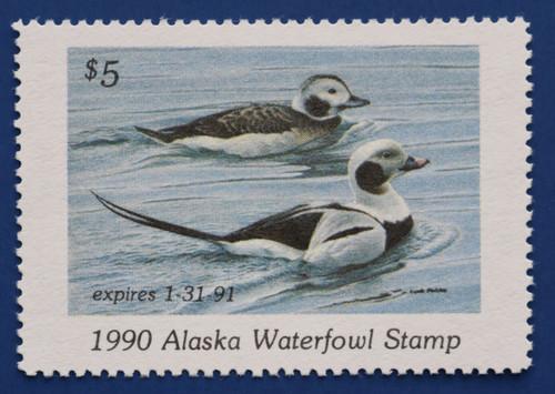1990 Alaska State Duck Stamp (AK06)