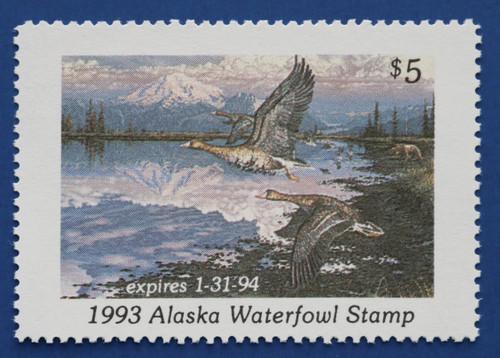 1993 Alaska State Duck Stamp (AK09)