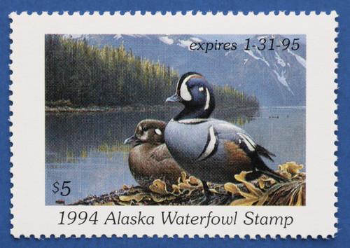 1994 Alaska State Duck Stamp (AK10)