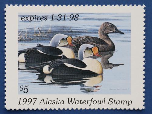 1997 Alaska State Duck Stamp (AK13)