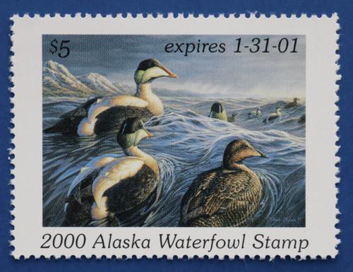 2000 Alaska State Duck Stamp (AK16)