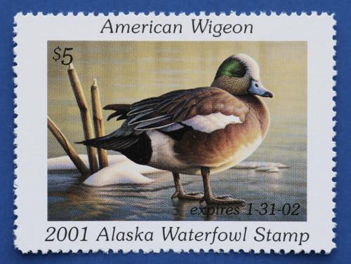 2001 Alaska State Duck Stamp (AK17)