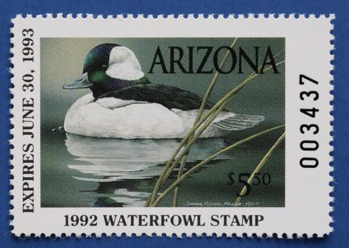 1992 Arizona State Duck Stamp (AZ06)
