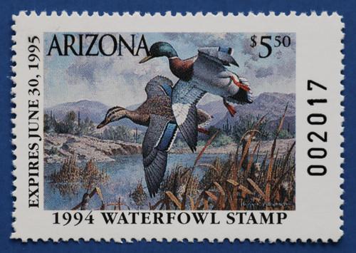 1994 Arizona State Duck Stamp (AZ08)
