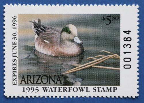 1995 Arizona State Duck Stamp (AZ09)