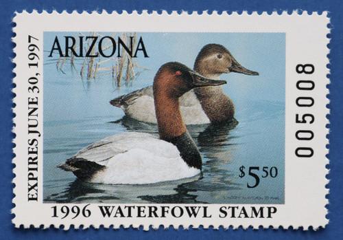 1996 Arizona State Duck Stamp (AZ10)