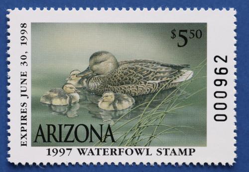 1997 Arizona State Duck Stamp (AZ11)